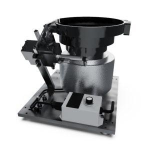 A10 Vibratory Bowl Screw Feeder Carlson Engineering Side 1