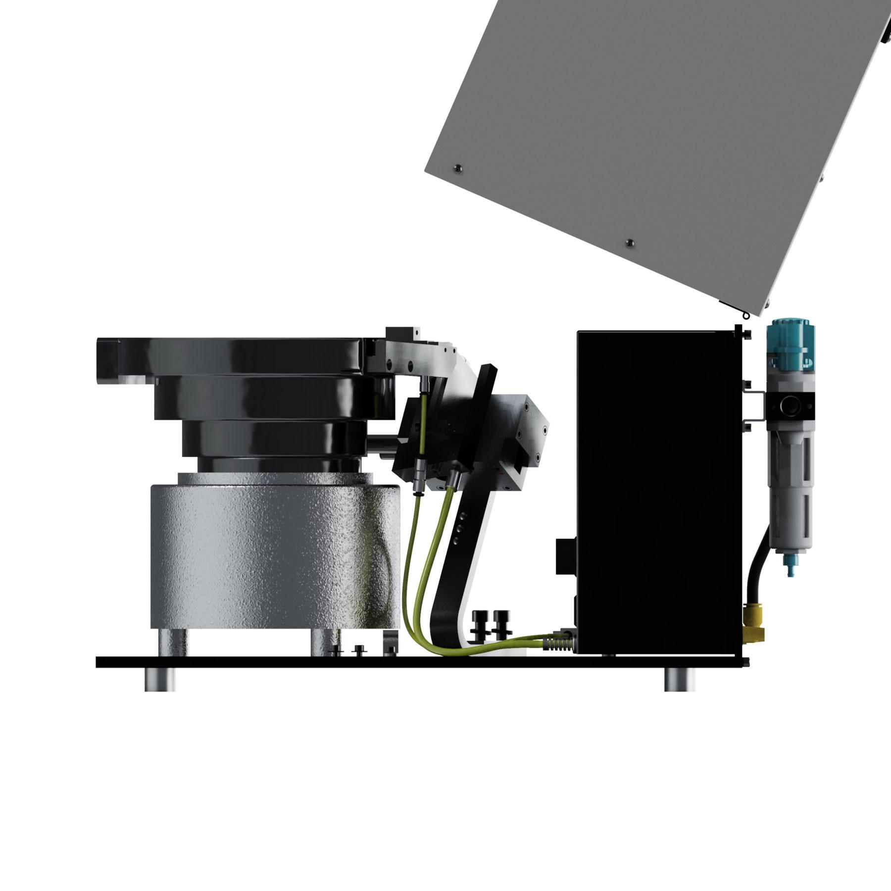 A10 Vibratory Bowl Screw Feeder Carlson Engineering Side 16