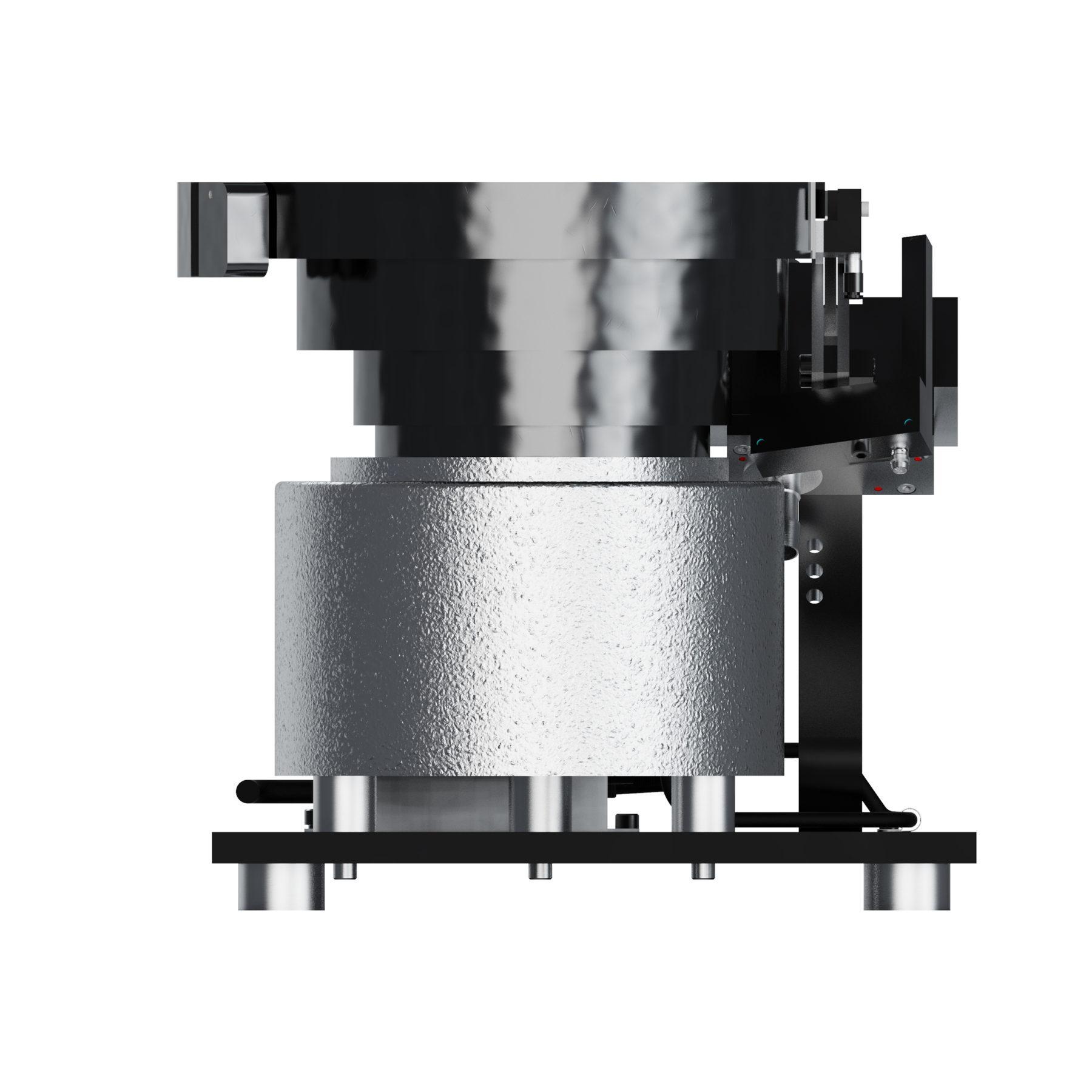 A10 Vibratory Bowl Screw Feeder Carlson Engineering Side 3