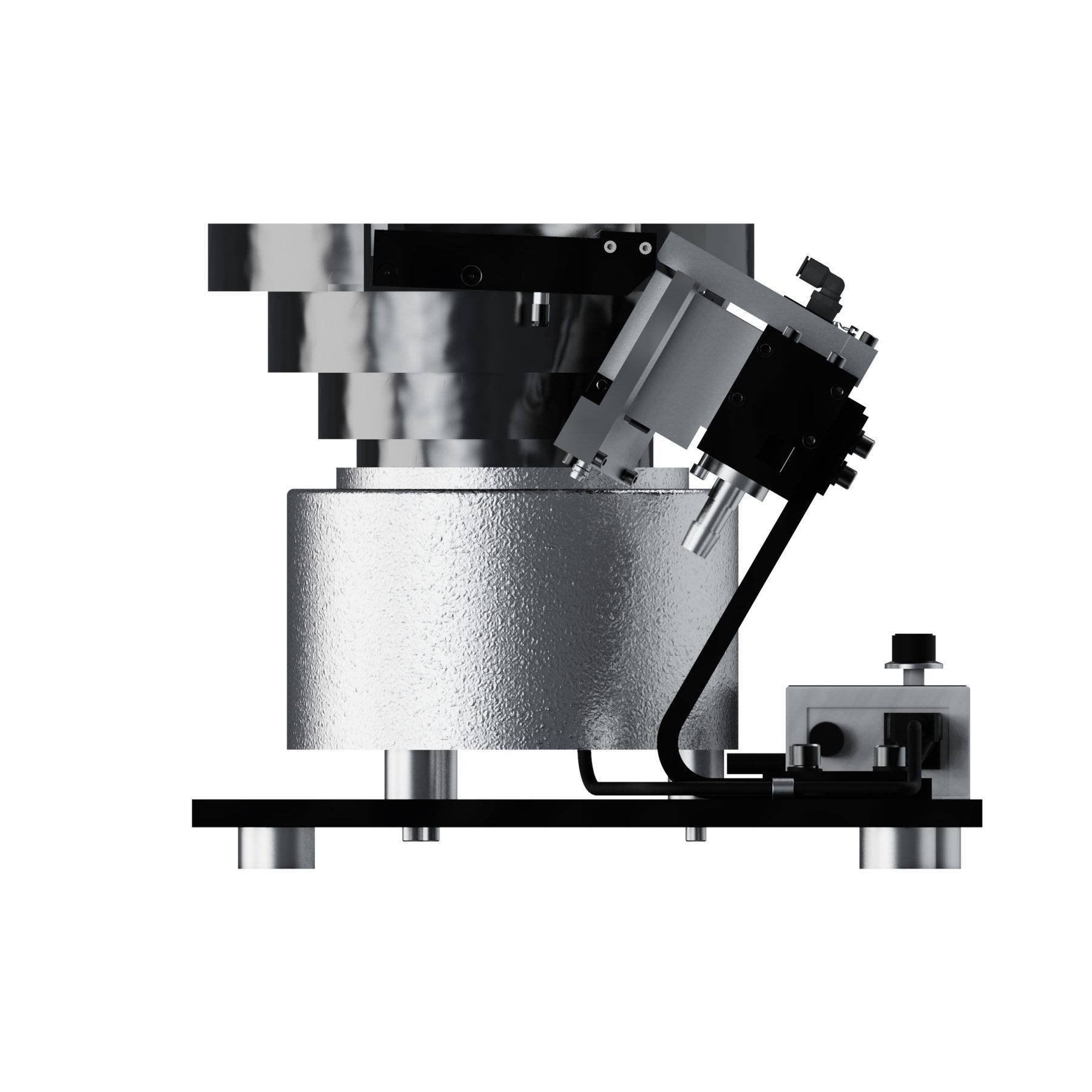 A10 Vibratory Bowl Screw Feeder Carlson Engineering Side 4