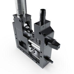 Right Angle MiniMod Automatic Screwdriver Head Side 1