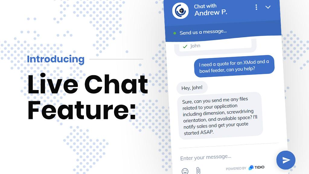 New Live Chat Feature